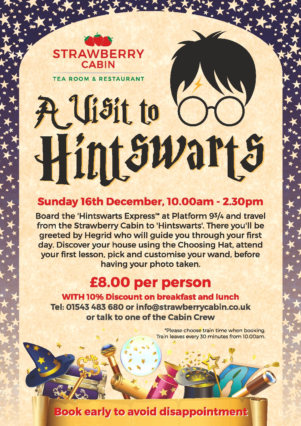 Hintswarts Sunday 16th December
