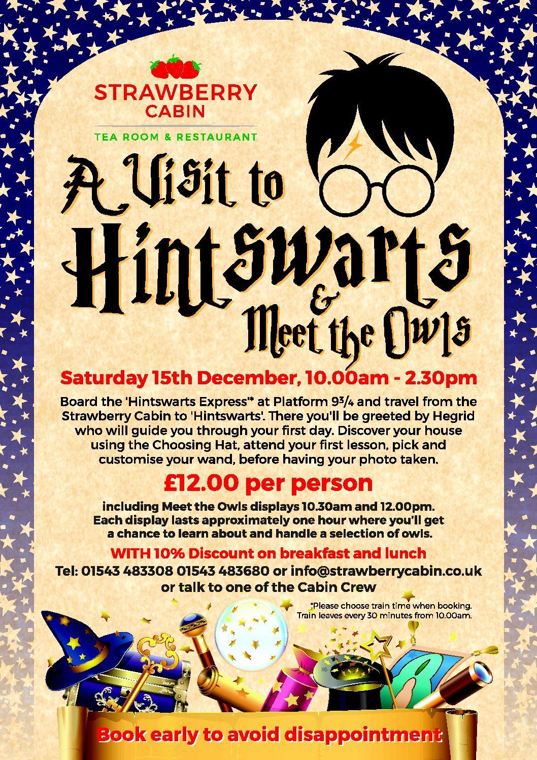 Hintswarts Saturday 15th December